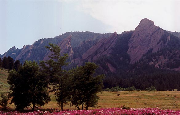 The Flatirons - Boulder, Colorado